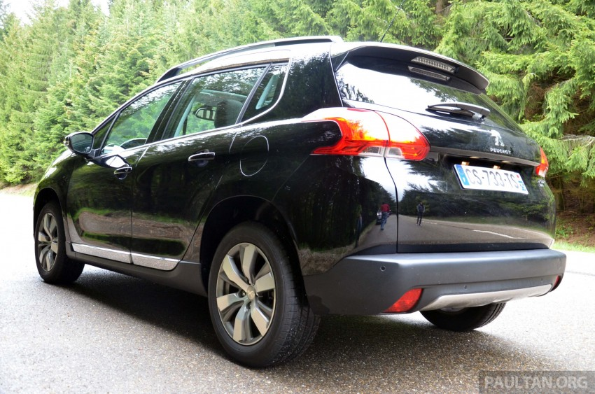 DRIVEN: Peugeot 2008 crossover in Alsace, France Image #220393