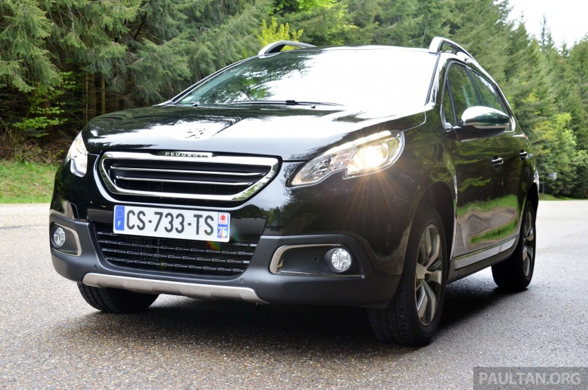 DRIVEN: Peugeot 2008 crossover in Alsace, France Image #220396