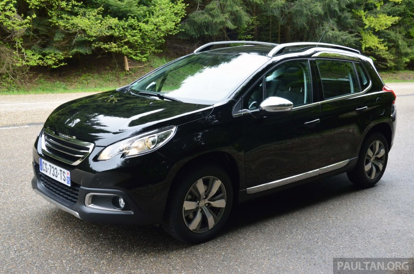 DRIVEN: Peugeot 2008 crossover in Alsace, France Image #220397