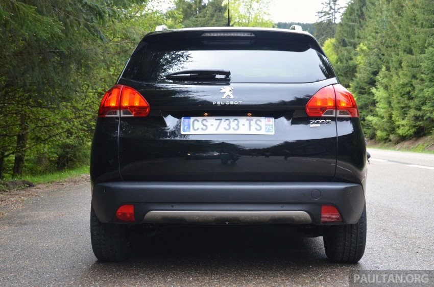 DRIVEN: Peugeot 2008 crossover in Alsace, France Image #220398