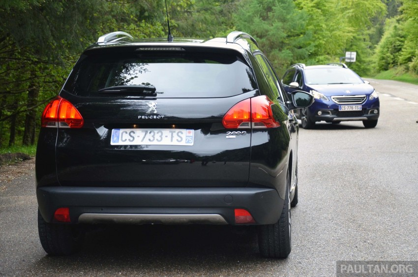 DRIVEN: Peugeot 2008 crossover in Alsace, France Image #220399