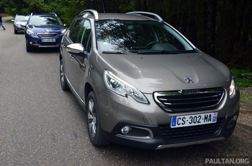 DRIVEN: Peugeot 2008 crossover in Alsace, France Image #220400