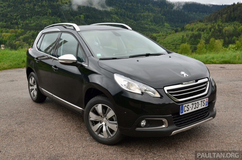 DRIVEN: Peugeot 2008 crossover in Alsace, France Image #220403