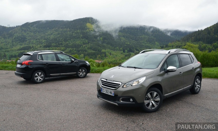 DRIVEN: Peugeot 2008 crossover in Alsace, France Image #220404