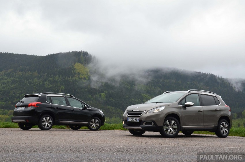 DRIVEN: Peugeot 2008 crossover in Alsace, France Image #220406