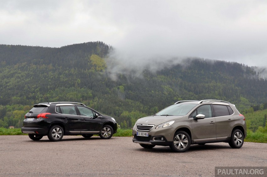 DRIVEN: Peugeot 2008 crossover in Alsace, France Image #220407