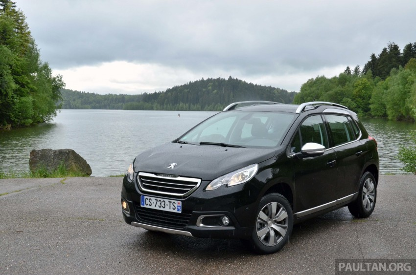 DRIVEN: Peugeot 2008 crossover in Alsace, France Image #220408