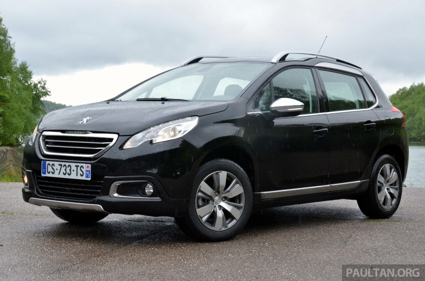 DRIVEN: Peugeot 2008 crossover in Alsace, France Image #220409