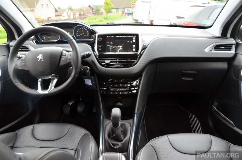 DRIVEN: Peugeot 2008 crossover in Alsace, France Image #220412