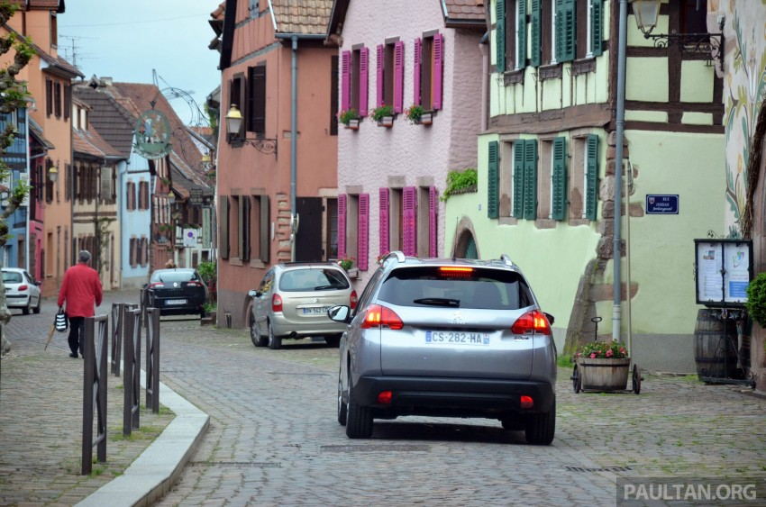 DRIVEN: Peugeot 2008 crossover in Alsace, France Image #220423