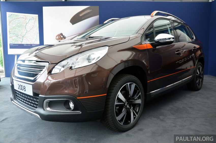 DRIVEN: Peugeot 2008 crossover in Alsace, France Image #220429