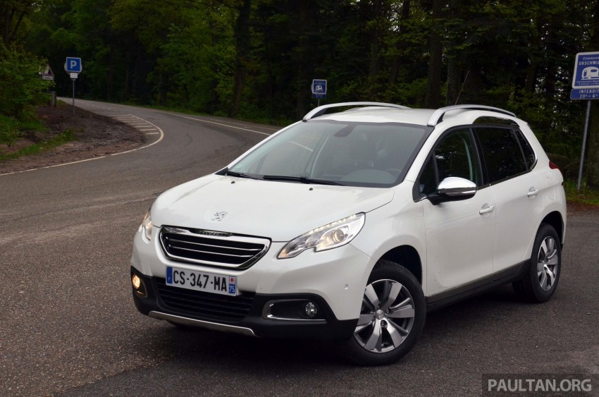 DRIVEN: Peugeot 2008 crossover in Alsace, France Image #220437