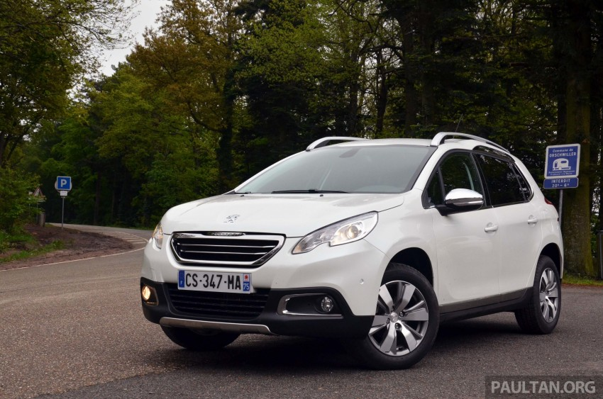 DRIVEN: Peugeot 2008 crossover in Alsace, France Image #220438