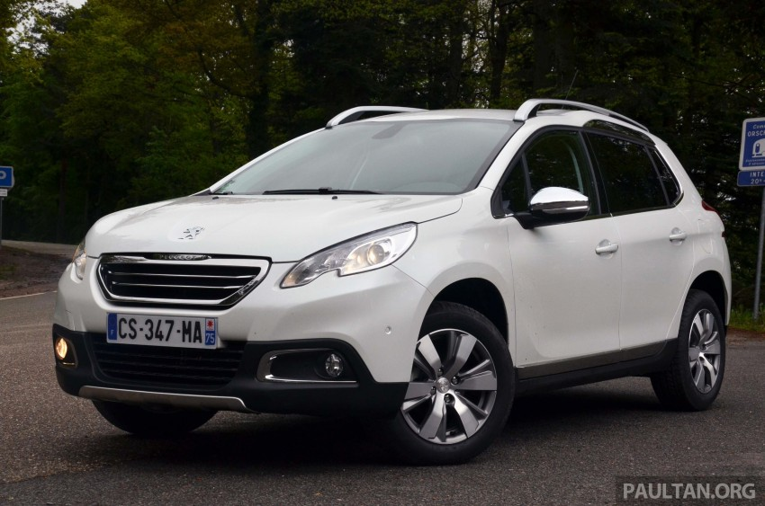 DRIVEN: Peugeot 2008 crossover in Alsace, France Image #220439