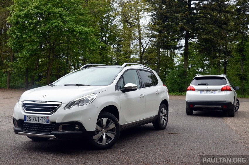 DRIVEN: Peugeot 2008 crossover in Alsace, France Image #220440