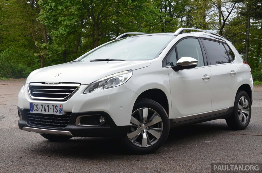 DRIVEN: Peugeot 2008 crossover in Alsace, France Image #220441