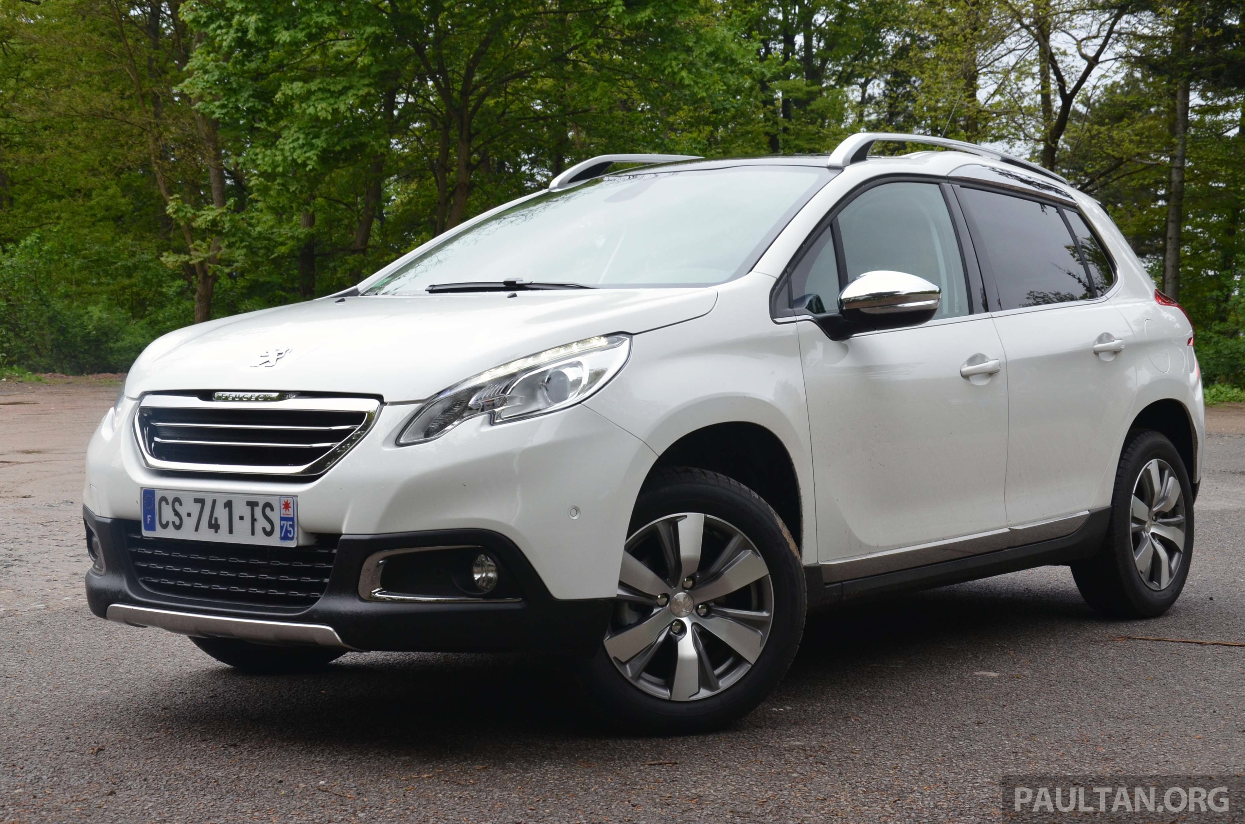 Driven Peugeot 2008 Crossover In Alsace France Image 220441