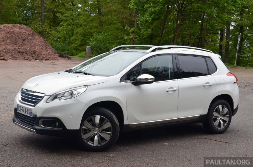 DRIVEN: Peugeot 2008 crossover in Alsace, France Image #220442