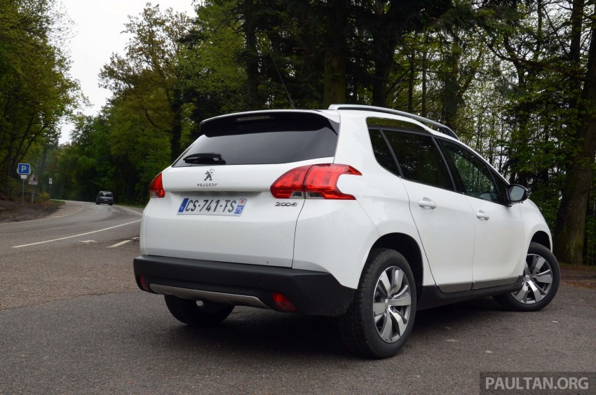 DRIVEN: Peugeot 2008 crossover in Alsace, France Image #220443