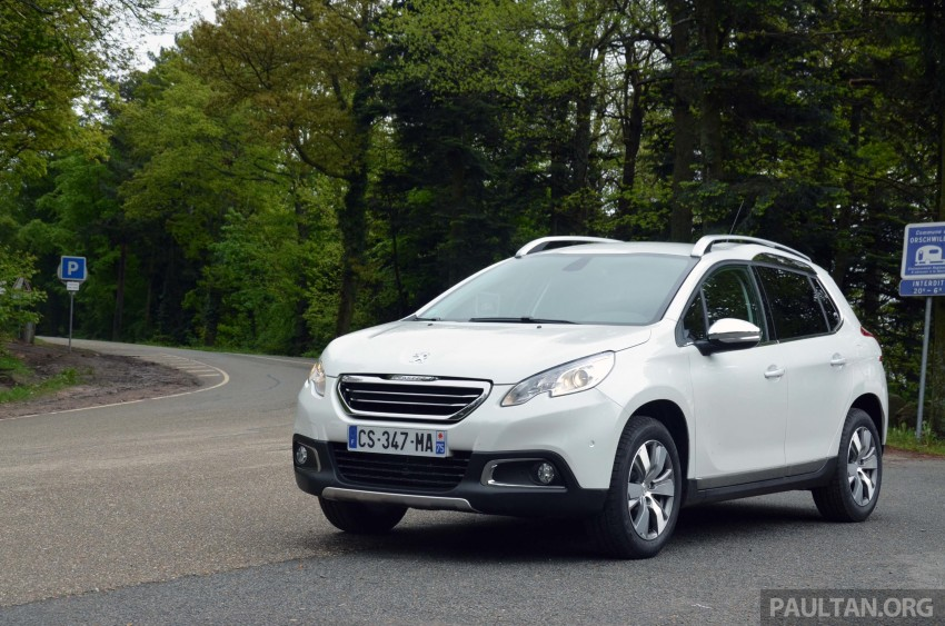 DRIVEN: Peugeot 2008 crossover in Alsace, France Image #220444