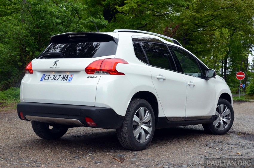 DRIVEN: Peugeot 2008 crossover in Alsace, France Image #220446
