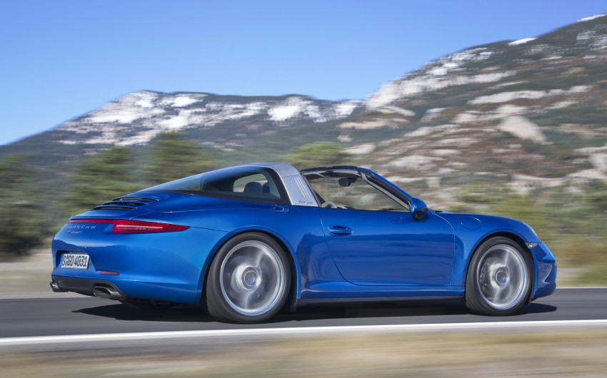 Porsche 911 Targa 4 and 4S (991) debut in Detroit Image #221874