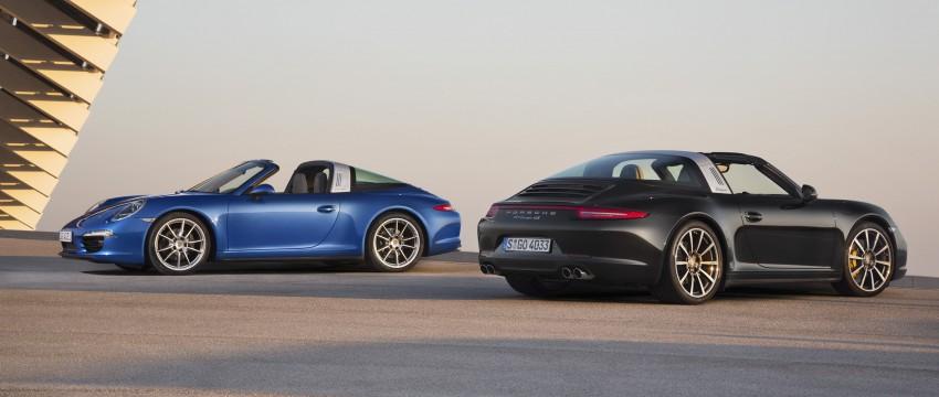 Porsche 911 Targa 4 and 4S (991) debut in Detroit Image #221880
