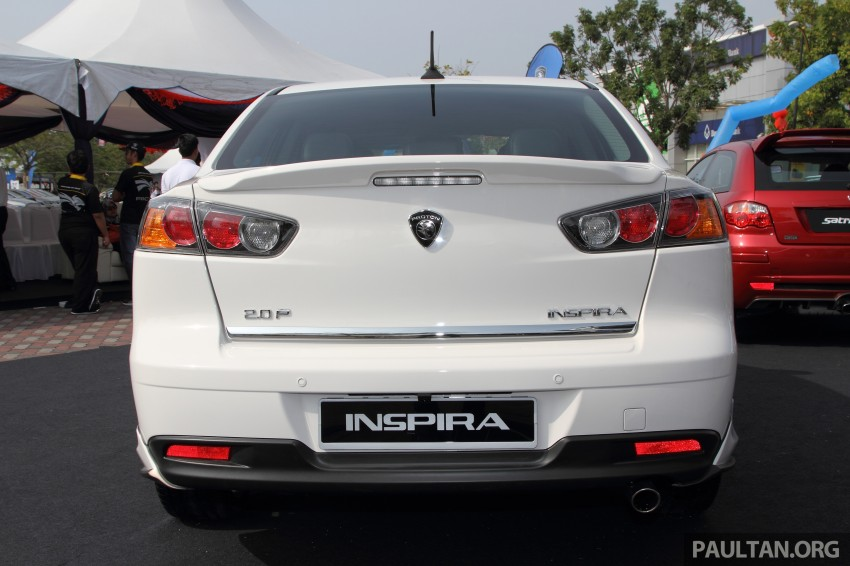 Proton Inspira Super Premium launched – RM102,000 Image #224292