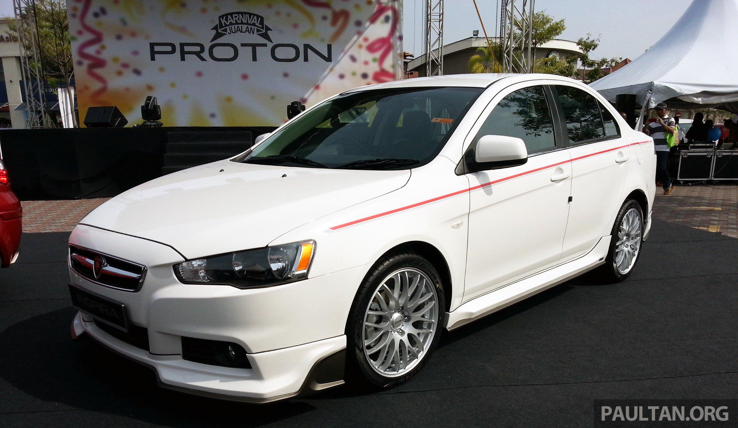 Super Auto Sales >> Proton Inspira Super Premium launched - RM102,000