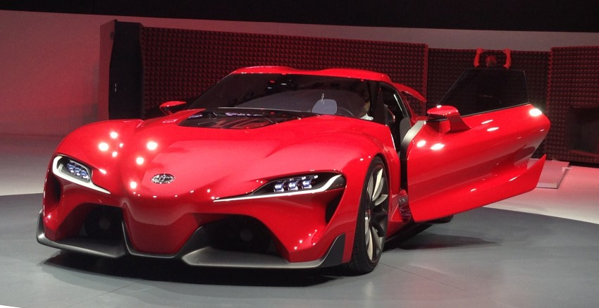 Toyota FT-1 concept shocks Detroit – the next Supra? Image #221944