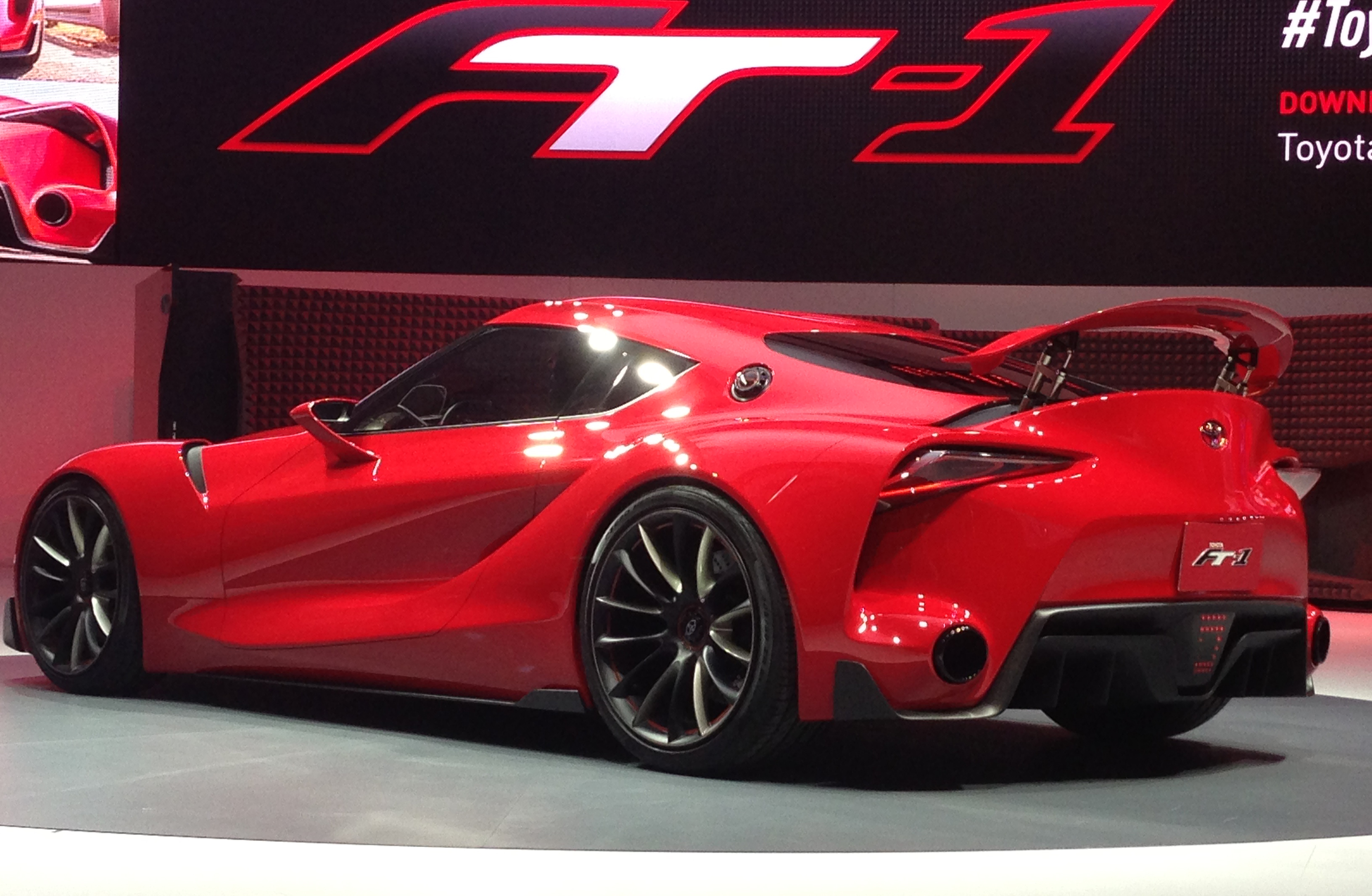 Toyota FT-1 concept shocks Detroit – the next Supra? Paul ...