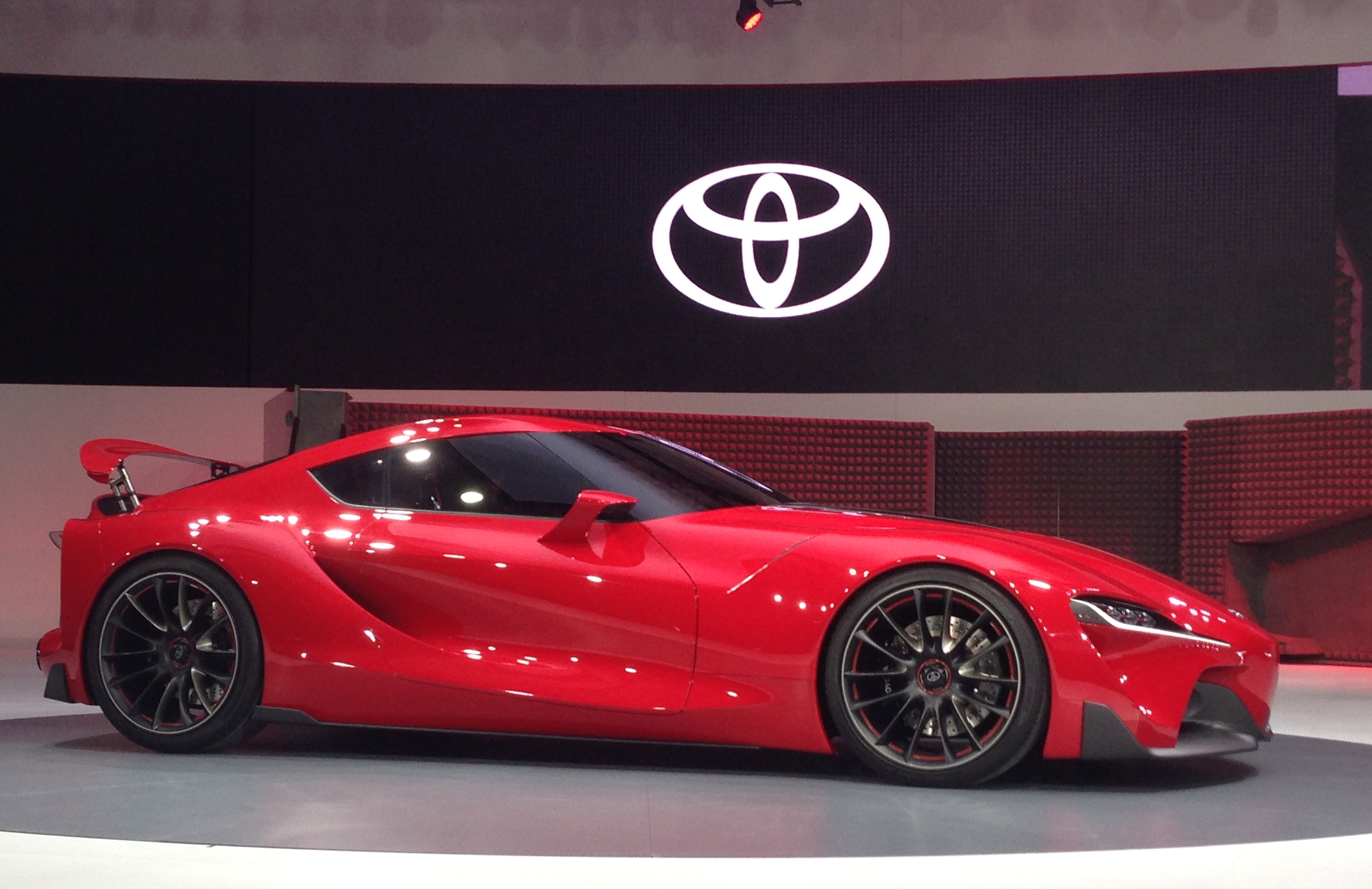 Toyota Ft 1 Concept Shocks Detroit The Next Supra Image