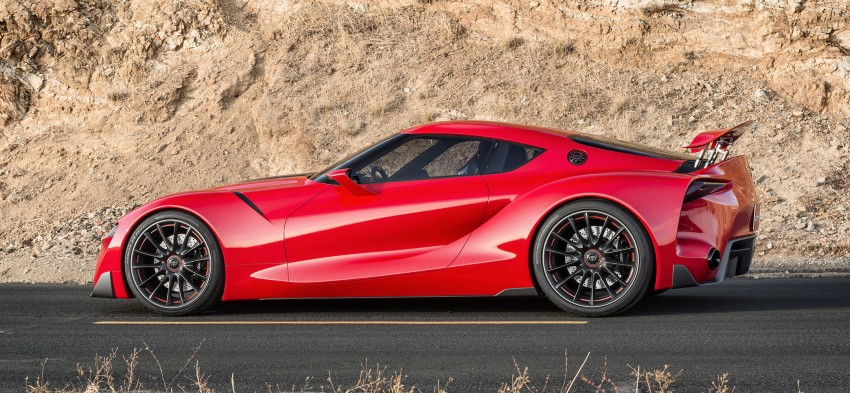 Toyota FT-1 concept shocks Detroit – the next Supra? Image #221948