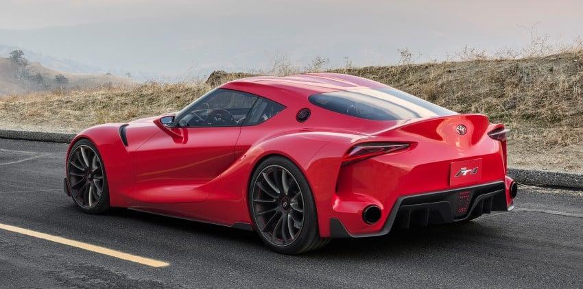 Toyota FT-1 concept shocks Detroit – the next Supra? Image #221949