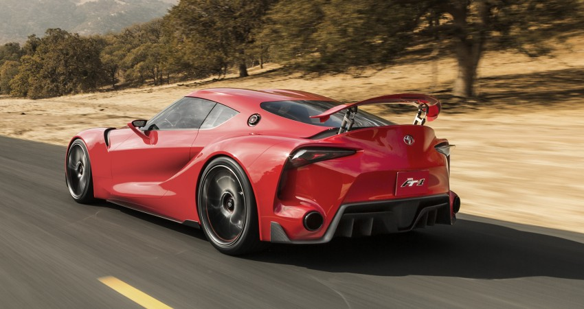 Toyota FT-1 concept shocks Detroit – the next Supra? Image #221950