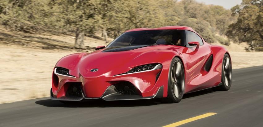 Toyota FT-1 concept shocks Detroit – the next Supra? Image #221951