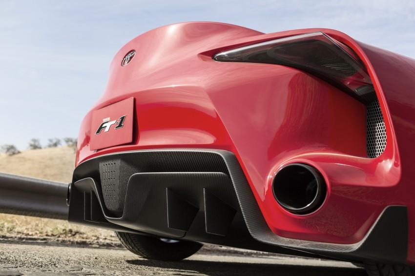 Toyota FT-1 concept shocks Detroit – the next Supra? Image #221955