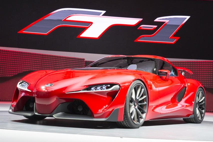 Toyota FT-1 concept shocks Detroit – the next Supra? Image #221957