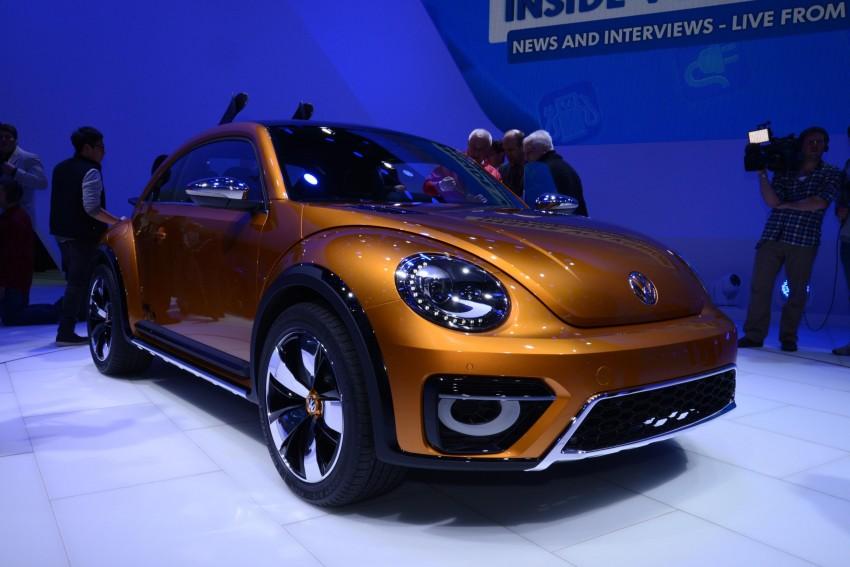 Volkswagen Beetle Dune concept debuts in Detroit Image #221862