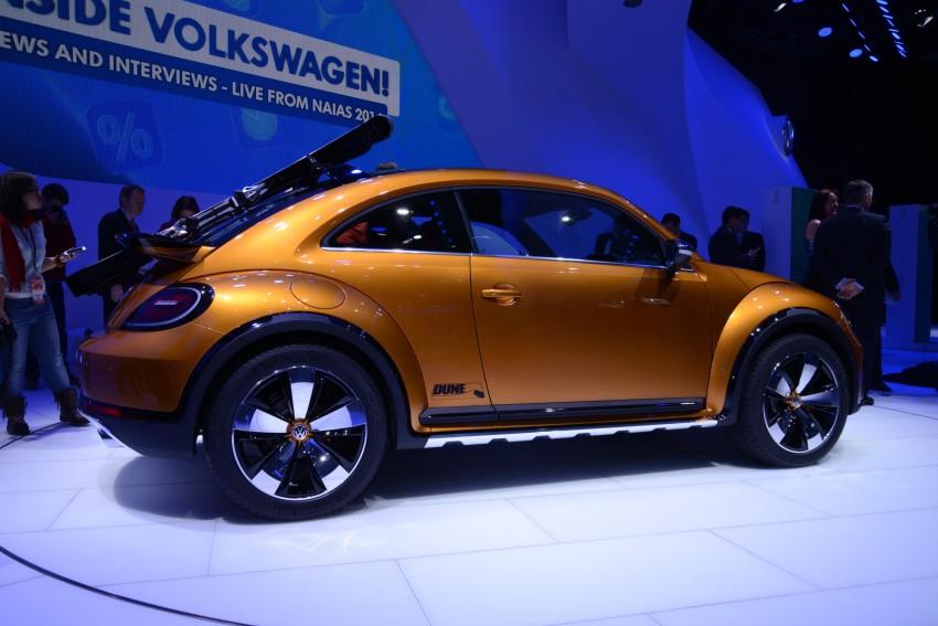 Volkswagen Beetle Dune concept debuts in Detroit Image #221865