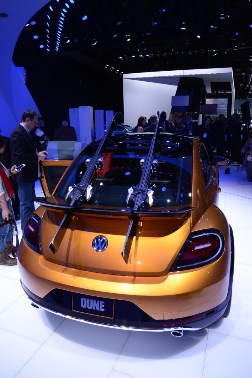 Volkswagen Beetle Dune concept debuts in Detroit Image #221866