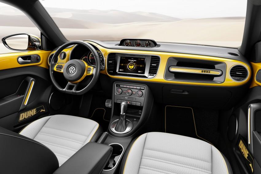 Volkswagen Beetle Dune concept debuts in Detroit Image #221843