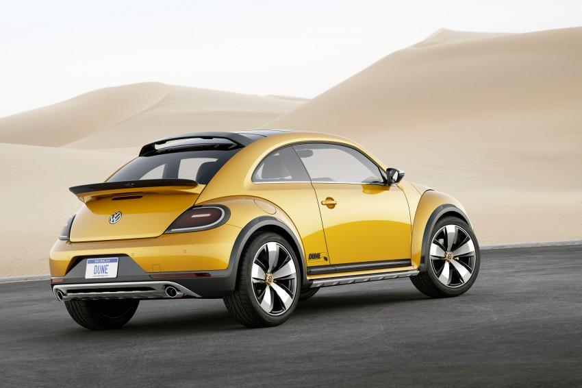 Volkswagen Beetle Dune concept debuts in Detroit Image #221833