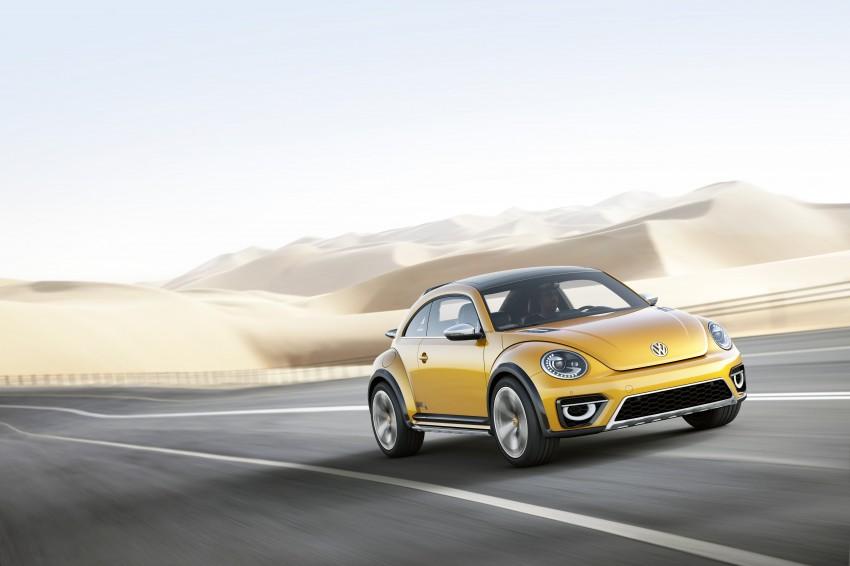 Volkswagen Beetle Dune concept debuts in Detroit Image #221837