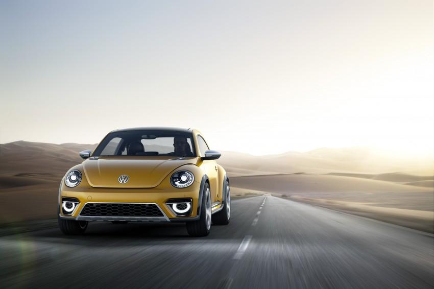 Volkswagen Beetle Dune concept debuts in Detroit Image #221838