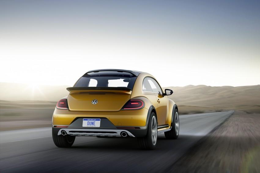 Volkswagen Beetle Dune concept debuts in Detroit Image #221839