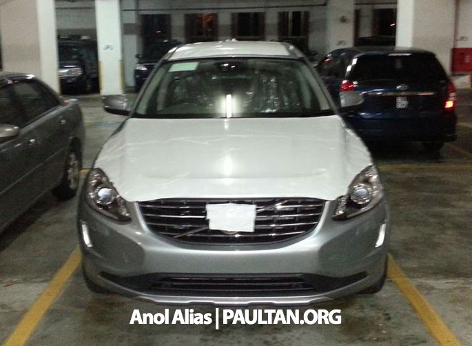 Volvo XC60 T5 facelift snapped at JPJ Putrajaya Image #223059
