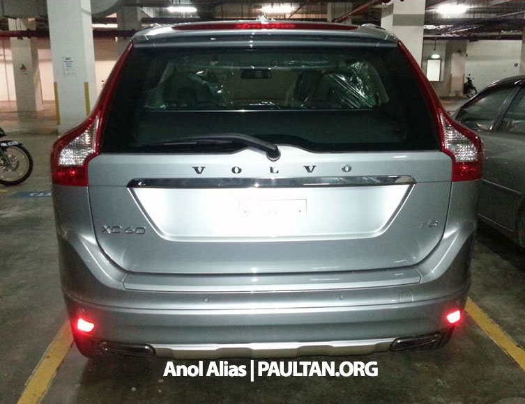 Volvo XC60 T5 facelift snapped at JPJ Putrajaya Image #223062