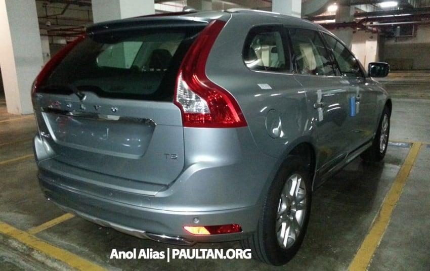 Volvo XC60 T5 facelift snapped at JPJ Putrajaya Image #223066