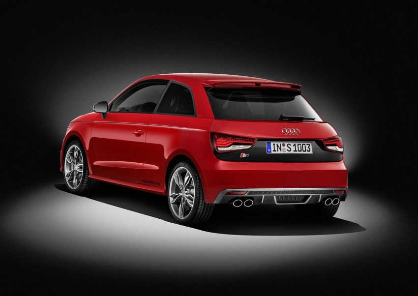 Audi S1 unveiled – an A1 with all-wheel drive, 231 PS Image #228020